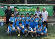 Festival bóng đá học đường tại huyện Nhà Bè