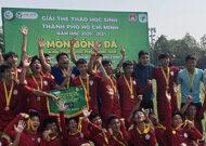Năng khiếu Nguyễn Thị Định vô địch bóng đá nam khối THPT 2020-2021