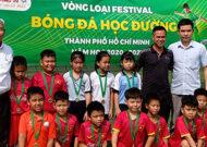 Festival bóng đá học đường quận 12
