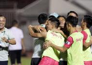 Đánh bại Hồng Lĩnh Hà Tĩnh, Sài Gòn FC thoát án chót bảng