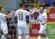 Vòng 1 Giải Futsal HDBank VĐQG 2021: ĐKVĐ Thái Sơn Nam ra quân thất bại