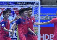 Giải Futsal HDBank VĐQG 2021: Tân Hiệp Hưng giành trọn 3 điểm trước Cao Bằng