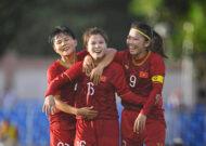 ĐT nữ Việt Nam tăng 1 bậc, xếp hạng 33 thế giới