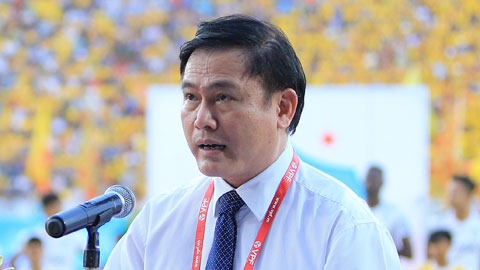 Chủ tịch VPF Trần Anh Tú: 'Chúng ta không thể hủy giải đấu'
