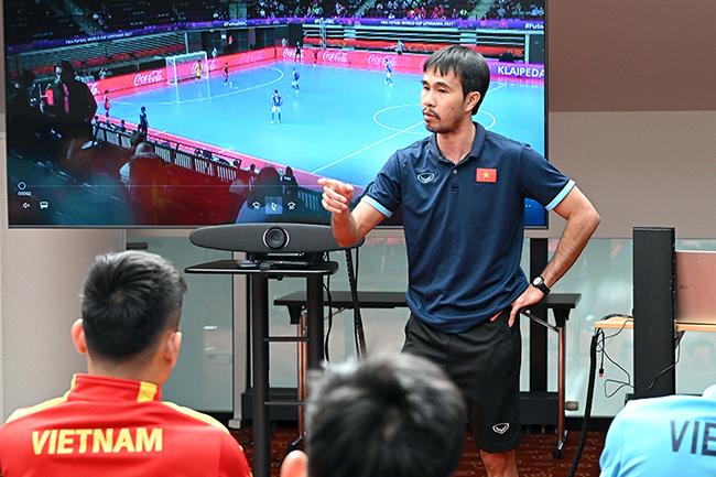 Tuyển futsal Việt Nam rèn vũ khí đặc biệt trước trận gặp CH Czech