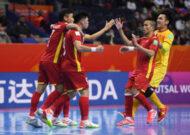 Việt Nam 2-3 Nga: Ngẩng cao đầu chia tay FIFA Futsal World Cup 2021