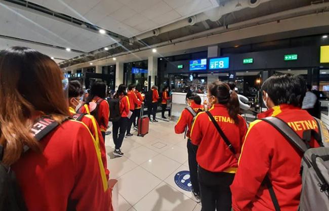Đội tuyển Nữ Việt Nam đã có mặt tại Tajikistan sẵn sàng đấu Maldives
