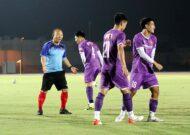 Tuyển Việt Nam sẵn sàng cho trận đấu gặp Oman