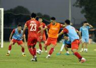 U23 Việt Nam chuẩn bị đấu U23 Kyrgyzstan trên đất UAE