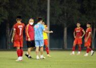 HLV Park Hang Seo dẫn dắt U23 Việt Nam tại Vòng loại U23 châu Á 2022