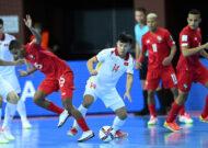 """""""Siêu phẩm"""" Nguyễn Văn Hiếu lọt Top bàn đẹp nhất futsal World Cup 2021"""